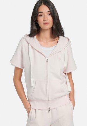 Zip-up sweatshirt - rose