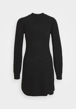 COZY SHORT DRESS - Jumper dress - black