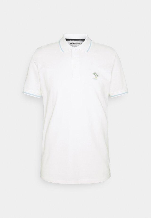 JORPLAYA - Polo shirt - cloud dancer