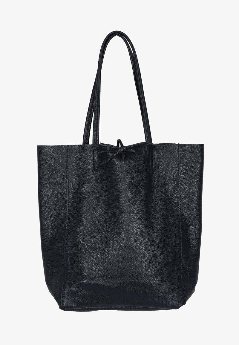 Zwillingsherz - ANITA - Tote bag - schwarz