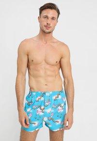 Lousy Livin Underwear - SKY GYM - Trenýrky - blue atol - 1