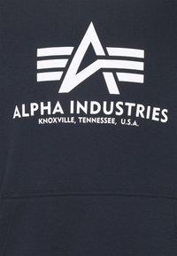 Alpha Industries - BASIC HOODY - Mikina - blue - 2