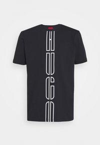 HUGO - DARLON - T-shirt z nadrukiem - black - 4