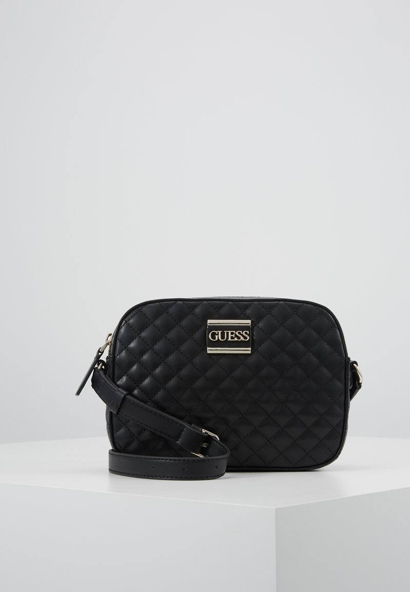 Guess - KAMRYN CROSSBODY TOP ZIP - Sac bandoulière - black