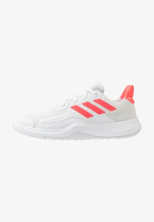 FITBOUNCE - Trainers - footwear white/signal pink/core black