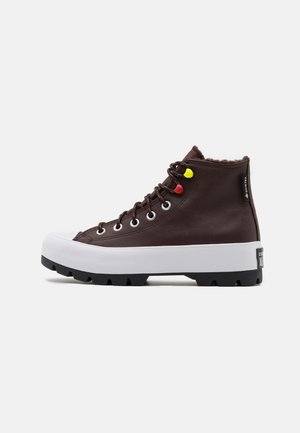 CHUCK TAYLOR ALL STAR MC LUGGED - High-top trainers - dark root/white/black