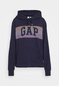 GAP - STRIPE - Hoodie - navy uniform - 4