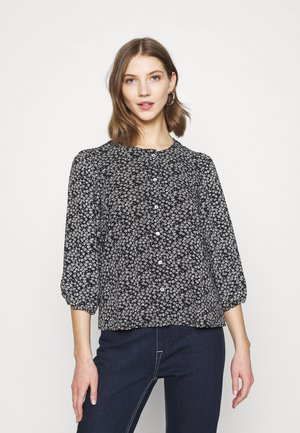 ONLNOVA LUX PUFF SLEEVE - Blouse - black