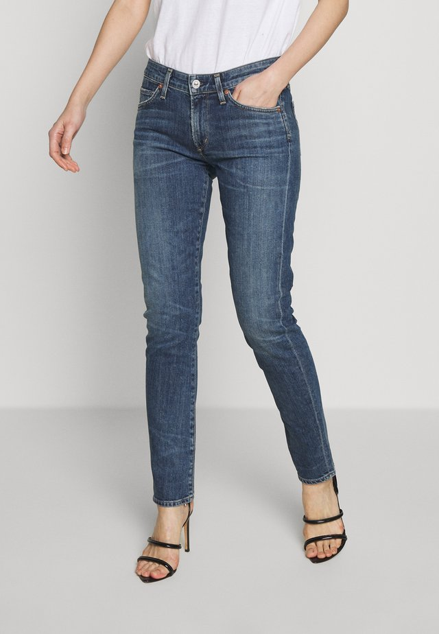 RACER LOW RISE  - Jeans Skinny - casp