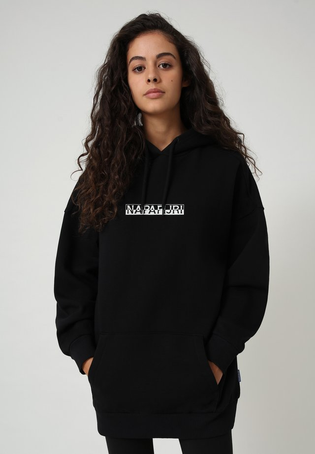 B-BOX - Bluza z kapturem - black