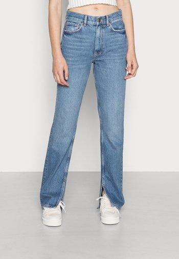 ORIGINAL SLIT - Jeans straight leg - blue