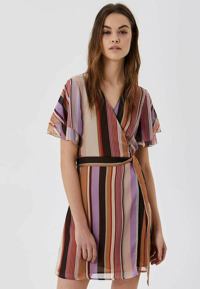 WITH BOW - Sukienka letnia - multicolor