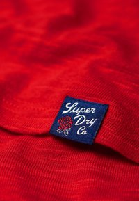 Superdry - Long sleeved top - red