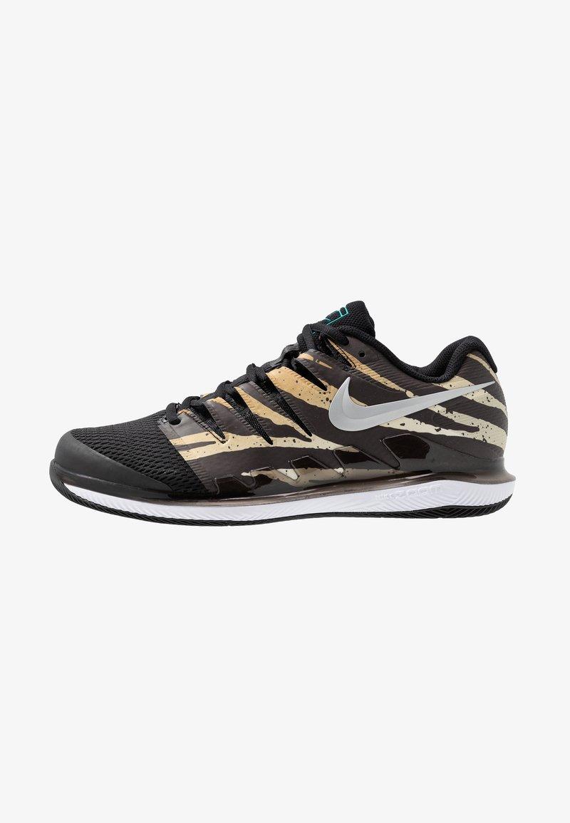 Nike Performance - AIR ZOOM VAPOR X - Allcourt tennissko - wheat/metallic silver/hyper jade/desert ore/black/white
