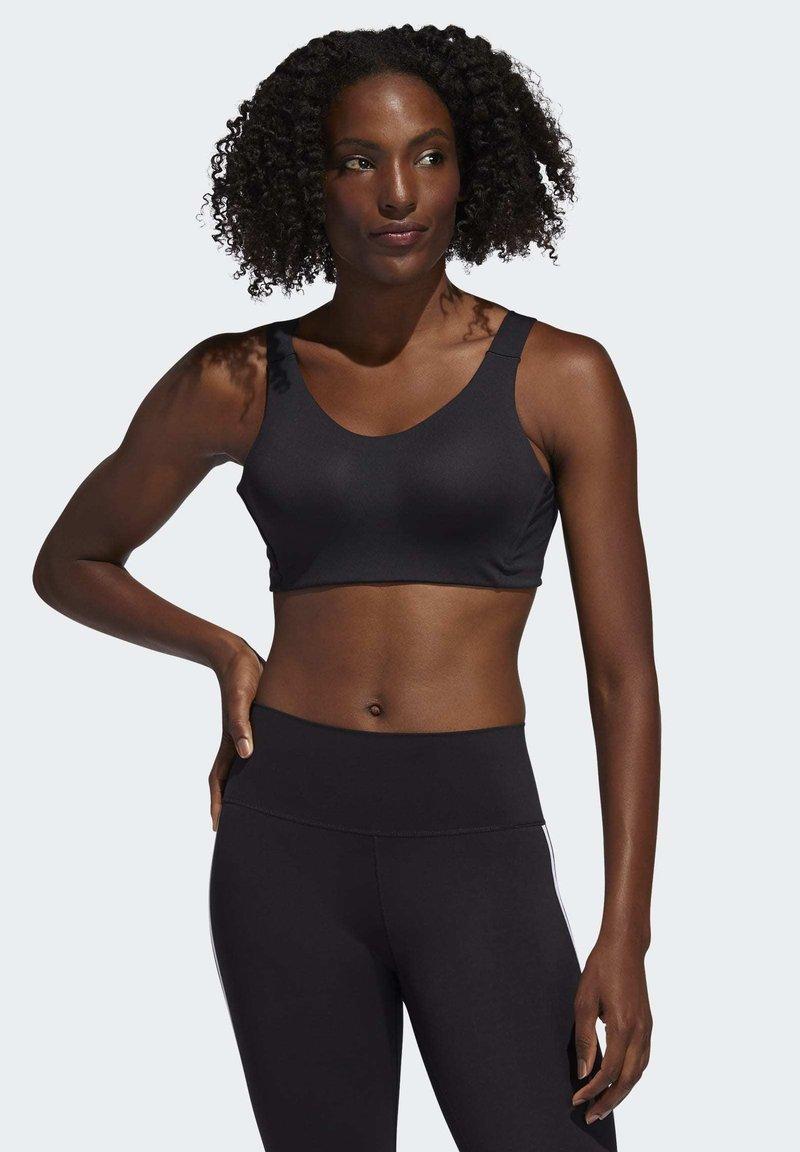 adidas Performance - ALPHA BRA - High support sports bra - black