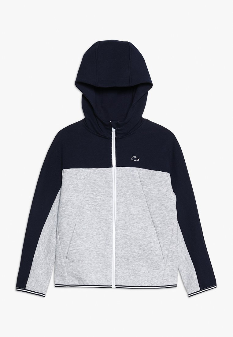 Lacoste - Zip-up hoodie - navy blue/silver chine