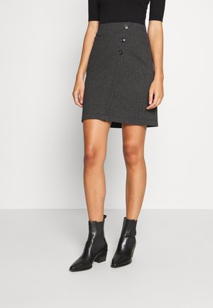 SKIRT - Pencil skirt - anthracite