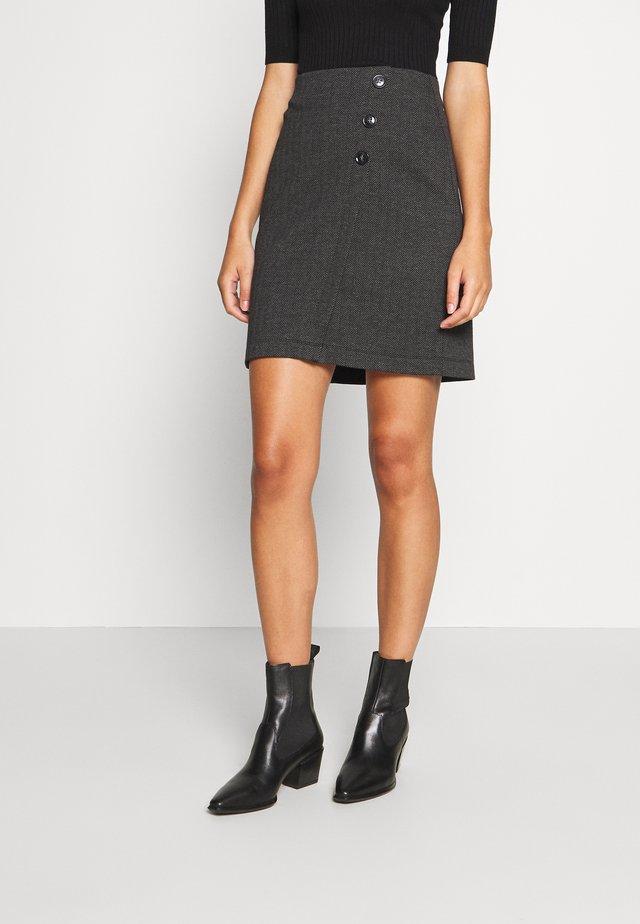 SKIRT - Pencil skirt - anthracite