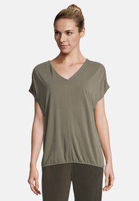 Betty & Co - MIT GUMMIZUG - Blouse - olive - 0