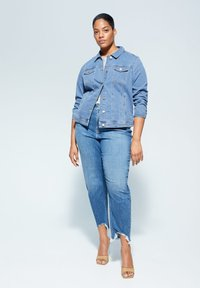Violeta by Mango - SARAH - Denim jacket - mittelblau - 1