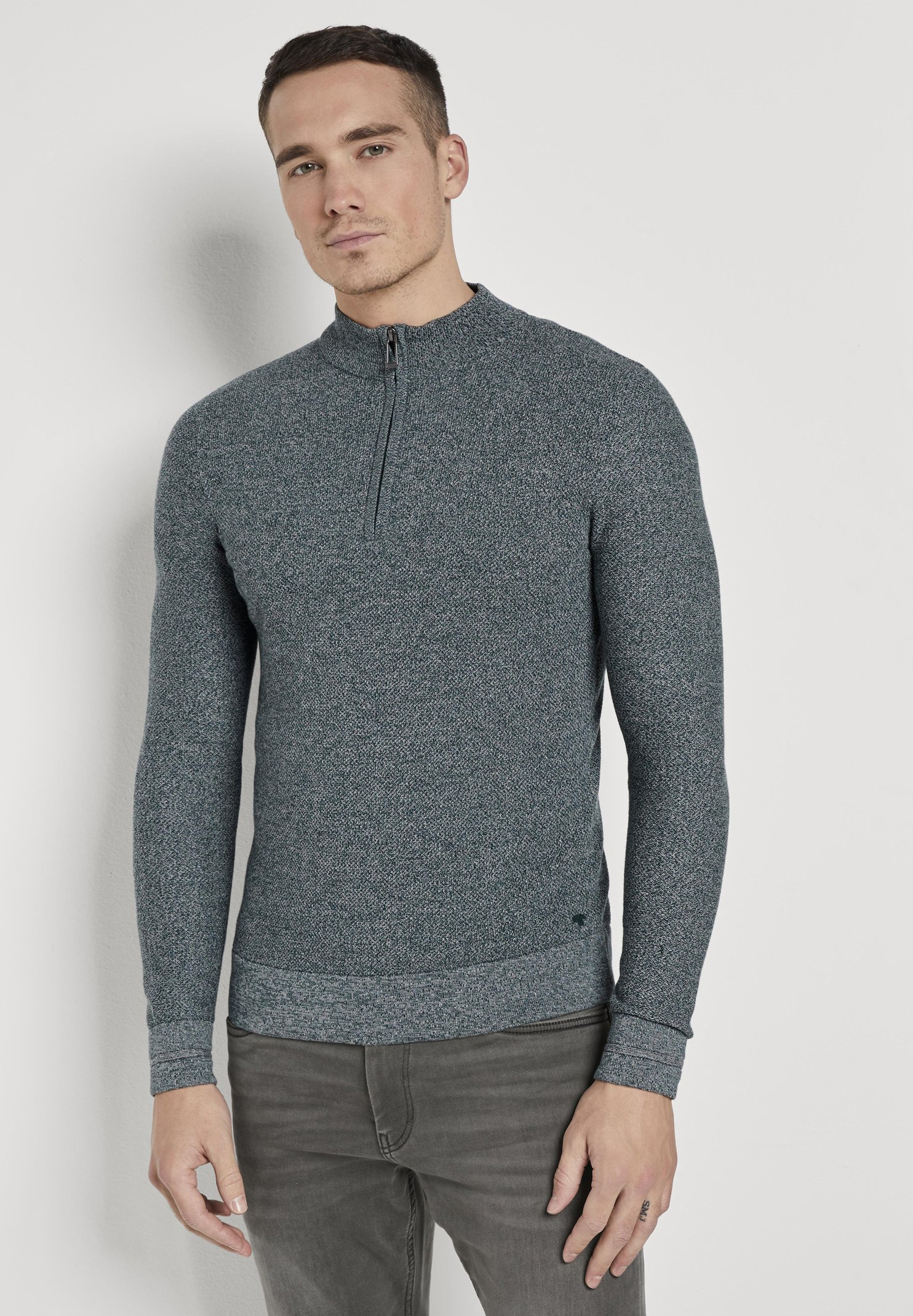 Homme FINE TROYER - Pullover