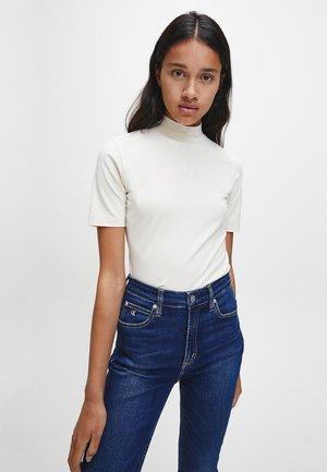 T-shirt con stampa - soft cream