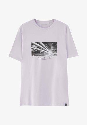 T-Shirt print - mauve