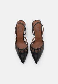 L'Autre Chose - SLINGBACK - Classic heels - black - 4