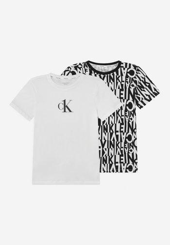 2 PACK - T-shirts med print - black