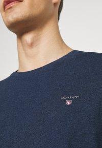 GANT - THE ORIGINAL - T-shirt - bas - marine melange - 3