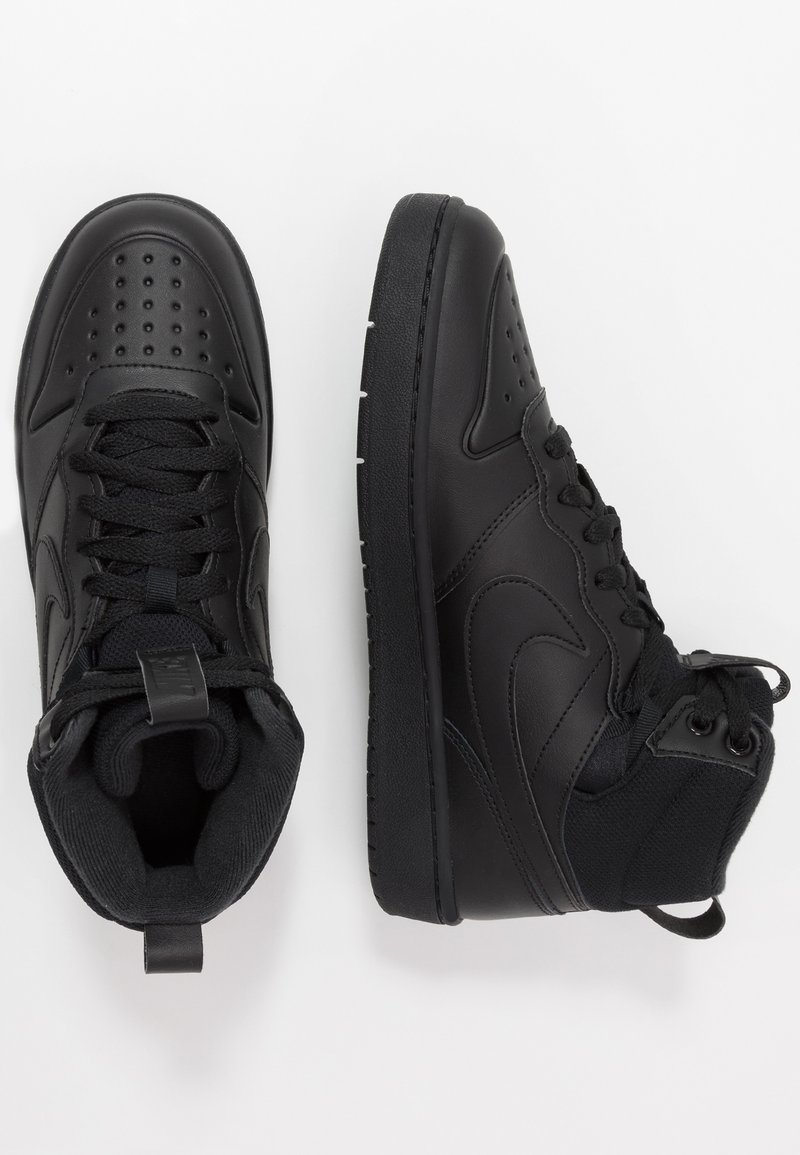 Nike Sportswear - COURT BOROUGH MID  - Zapatillas altas - black