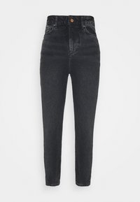 New Look Petite - SRI LANKA MOM - Relaxed fit jeans - black - 4