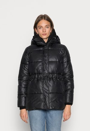 SORONAWAISTED JACKET - Winter jacket - black