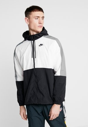 Training jacket - black/white/smoke grey