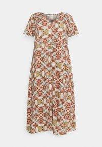 ONLY Carmakoma - CARDES LIFE DRESS - Maxi dress - oatmeal - 4