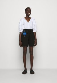 3.1 Phillip Lim - FRENCH TERRY PULL ON - Shorts - black - 1