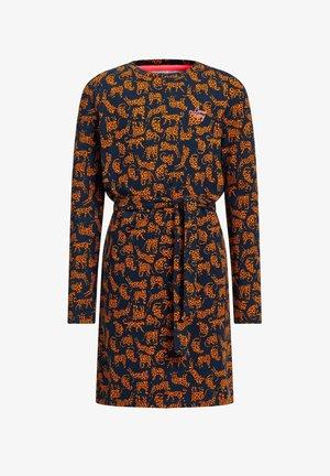 MET LUIPAARDDESSIN - Jersey dress - all-over print