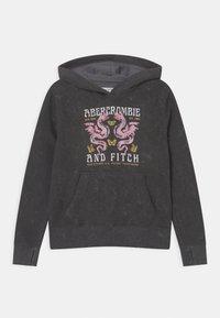 Abercrombie & Fitch - Sudadera - black - 0