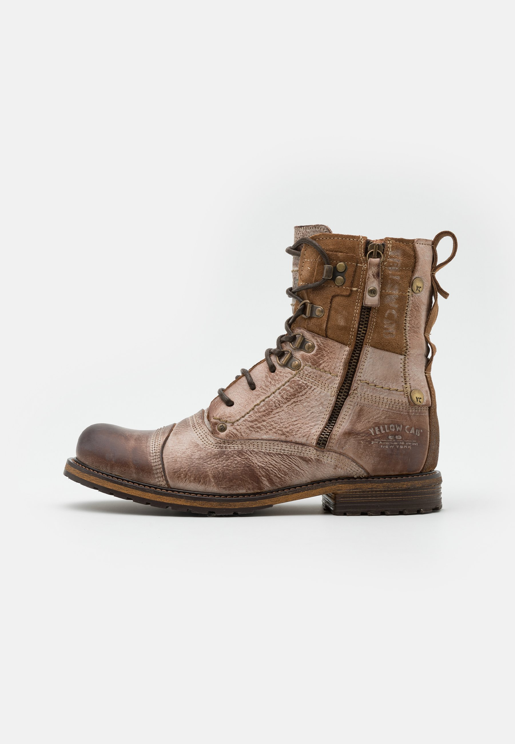Men SOLDIER WITHOUT WARM LINING - Lace-up ankle boots