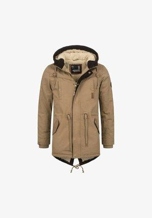 Winter coat - camelfarben