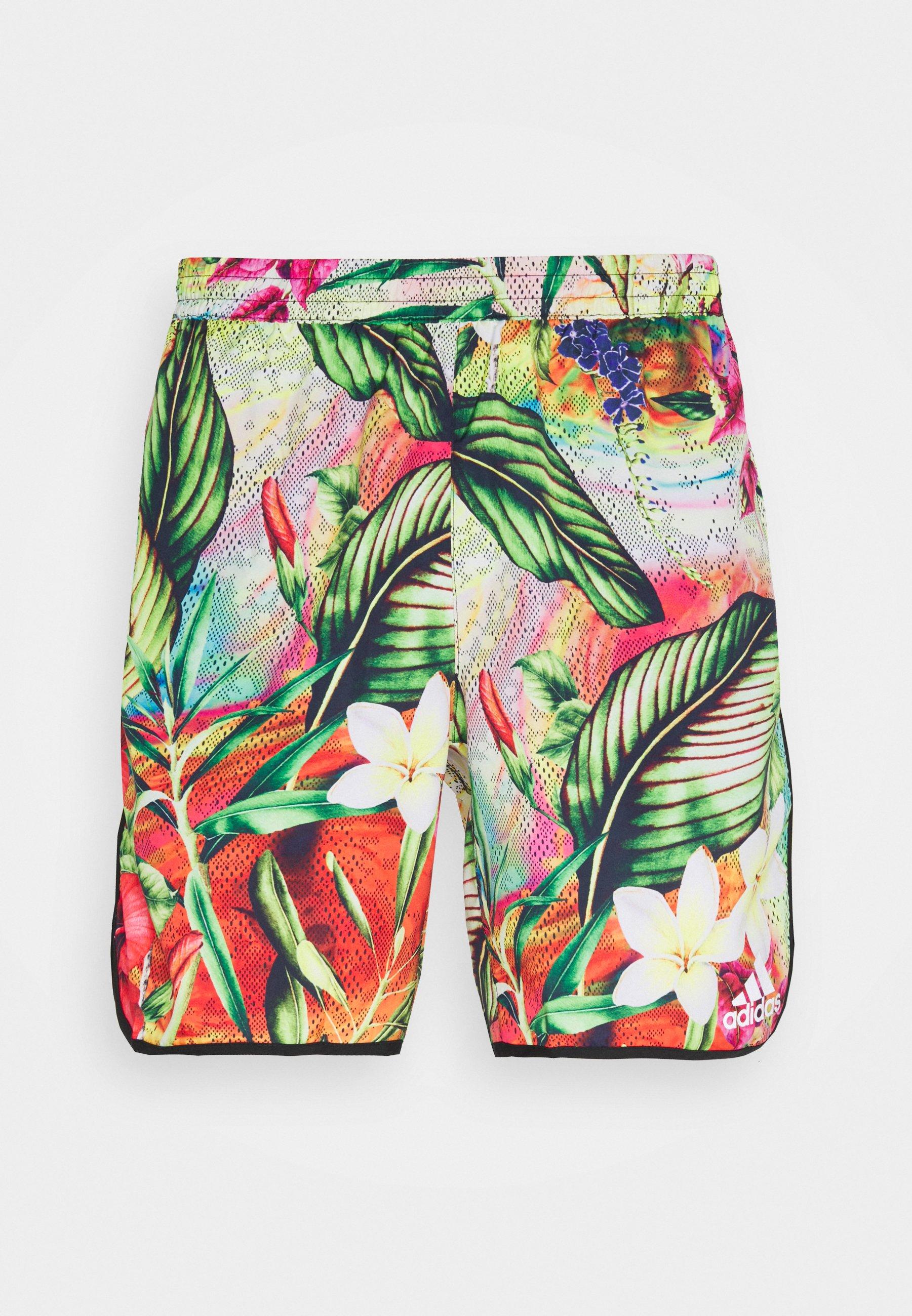 Men FLORAL - Sports shorts