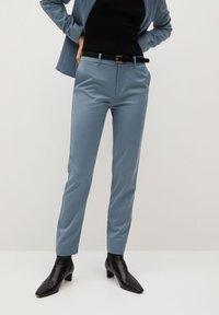 Mango - BOREAL - Trousers - bleu ciel - 0