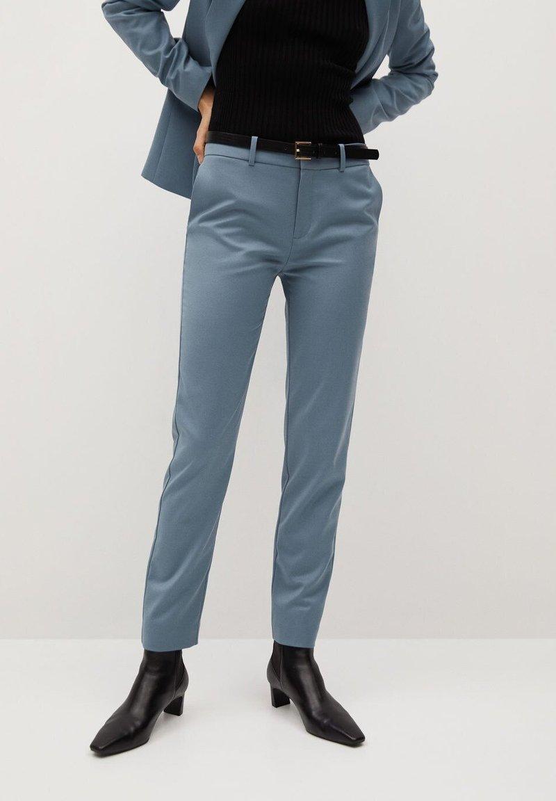 Mango - BOREAL - Trousers - bleu ciel