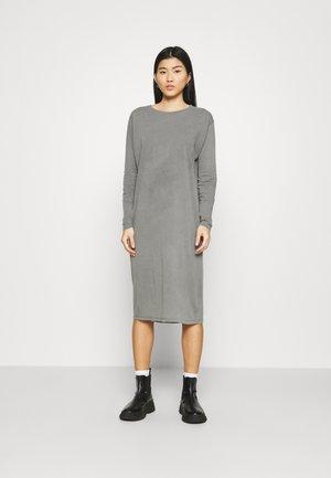 VEGIFLOWER - Žerzejové šaty - metal