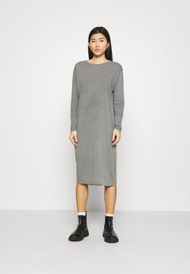 VEGIFLOWER - Sukienka z dżerseju - metal