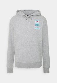 New Balance - ESSENTIALS FIELD DAY HOODIE - Sweatshirt - athletic grey - 0