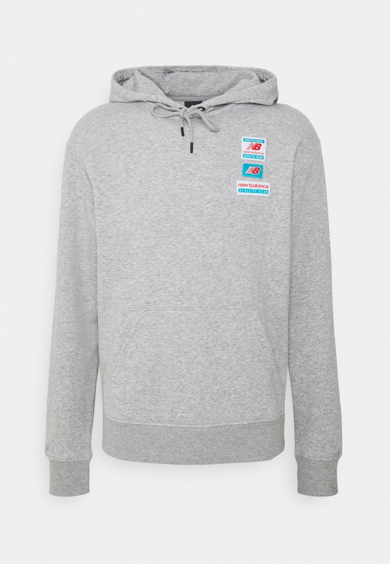 New Balance - ESSENTIALS FIELD DAY HOODIE - Sweatshirt - athletic grey