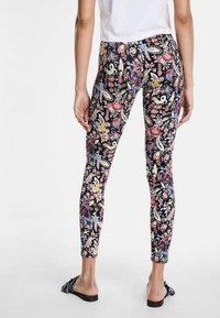 Desigual - DESIGNED BY CHRISTIAN LACROIX - Leggings - black - 2