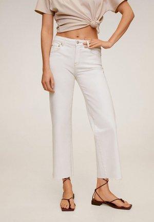 AUDREY - Straight leg jeans - ecru