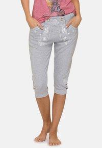 Stockerpoint - ASHLEY - Trousers - grey - 0